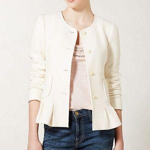 Anthropologie Jackets & Coats - ANTHROPOLOGIE Francie Wool Peplum Blazer {R38}